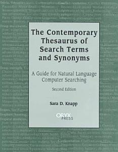 The Contemporary Thesaurus of Search Terms and Synonyms PDF
