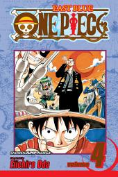 One Piece, Vol. 4: The Black Cat Pirates