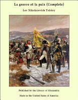 La guerre et la paix  Complete  PDF