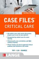 Case Files Critical Care  Second Edition PDF