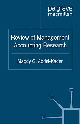 Review of Management Accounting Research PDF