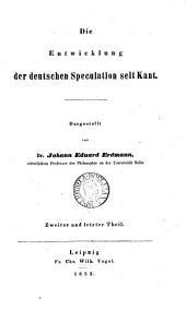 Versuch einer wissenschaftlichen Darstellung der Geschichte der neuern Philosophie. 3 Bde [each in 2].