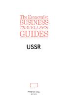 The Economist Business Traveller s Guides PDF