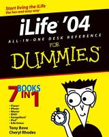 iLife  04 All in One Desk Reference For Dummies PDF