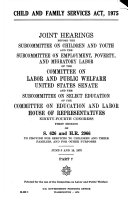 Child and Family Services Act, 1975