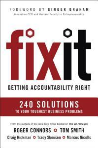 Fix It Book