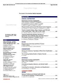 JAMA The Journal of the American Medical Association PDF