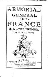 Armorial général de la France: Volume1