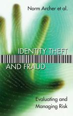 Identity Theft and Fraud PDF