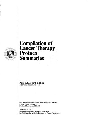 Compilation of Cancer Therapy Protocol Summaries