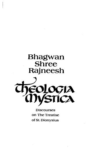 Theologia Mystica