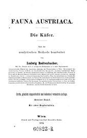 Fauna Austriaca.