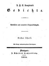 Gedichte: in dreißig Bänden, mit ein und dreißig Stahlstichen. 1
