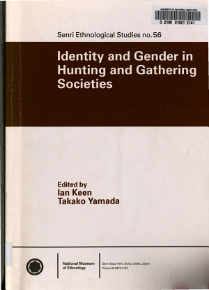 Identity and Gender in Hunting and Gathering Societies PDF