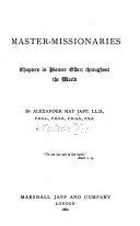 Master-missionaries