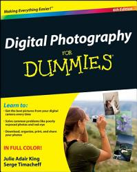 Digital Photography For Dummies Book PDF