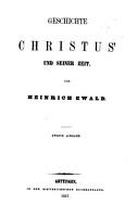 Geschichte des Volkes Israel bis Christus PDF