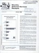 Current Business Reports: Monthly selected services receipts. BS