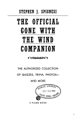 The Official Gone with the Wind Companion