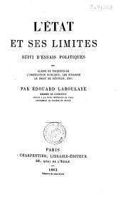 L'Etat et ses limites par Edouard Laboulaye