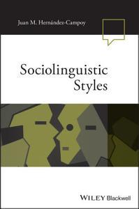 Sociolinguistic Styles PDF
