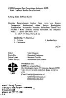Etnisitas  pengembangan sumber daya lokal dan potensi perdagangan internasional dalam rangka peningkatan kesejahteraan masyarakat Nunukan  Kalimantan Timur PDF