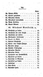 Neuestes vollständiges Nürnberger Kochbuch für alle Stände
