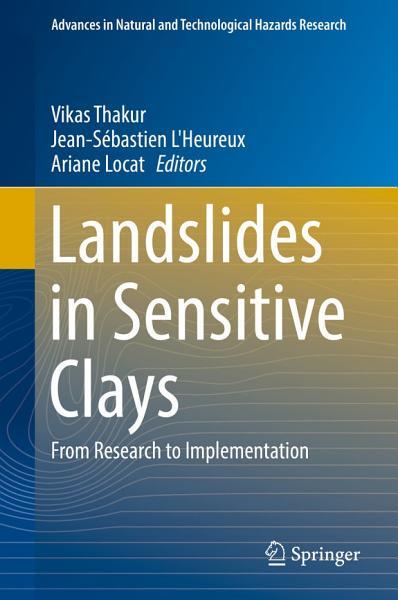 Download Landslides in Sensitive Clays Book