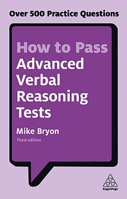 How to Pass Advanced Verbal Reasoning Tests PDF
