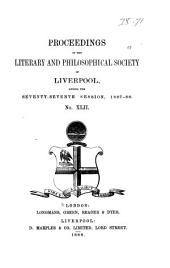 Proceedings of the Liverpool Literary & Philosophical Society: Volume 42