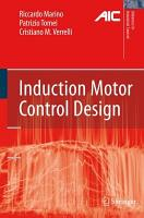 Induction Motor Control Design PDF