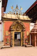 Golden Gate of the Royal Palace of Bhaktapur Nepal Journal