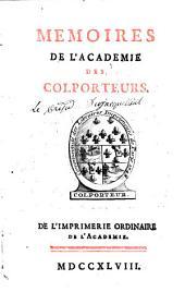 Mémoires de l'académie des colporteurs