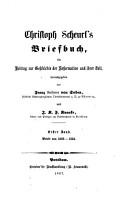 Scheurl s Chr  Briefbuch PDF
