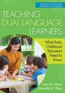 Teaching Dual Language Learners PDF