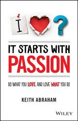It Starts With Passion Book PDF