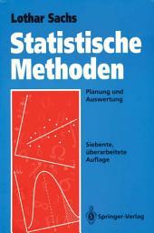 Statistische Methoden: Planung und Auswertung, Ausgabe 7