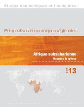 Perspectives économiques régionales, Oct 13: Afrique subsaharienne Maintenir le rythme