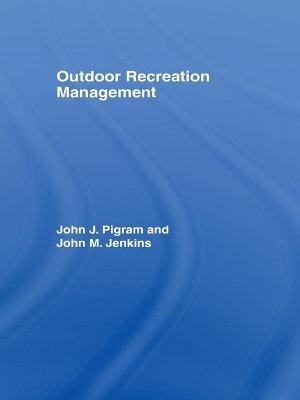 Outdoor Recreation Management PDF