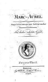 Marc-Aurel. Neue, verb. Ausg: Volume 2