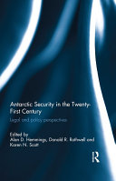 Antarctic Security in the Twenty-first Century