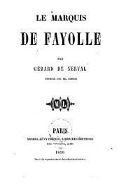 Le marquis de Fayolle