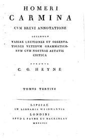 Homeri Carmina cum brevi annotatione: Versio latina Iliadis