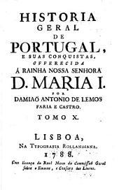 Historia geral de Portugal, e suas conquistas: Volume 10