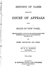 Reports of Cases Decided in the Court of Appeals of the State of New York: Volume 67