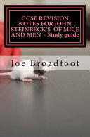 Download GCSE Revision Notes for John Steinbeck s of Mice and Men   Study Guide Book