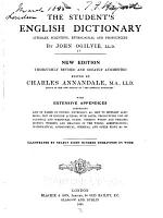The Student s English Dictionary  Literary  Scientific  Etymological  and Pronouncing PDF