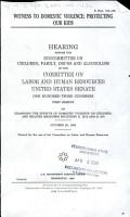 Witness to Domestic Violence PDF