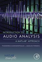 Introduction to Audio Analysis PDF