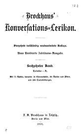 Brockhaus ̓Konversations-Lexikon: Band 16